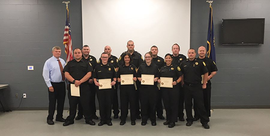 Kenton County Detention Center Academy Class